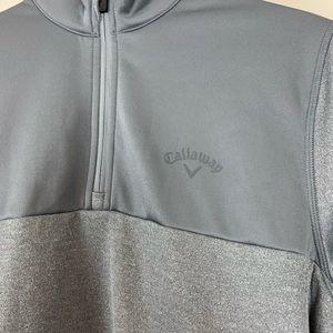 Callaway golf quarter zip